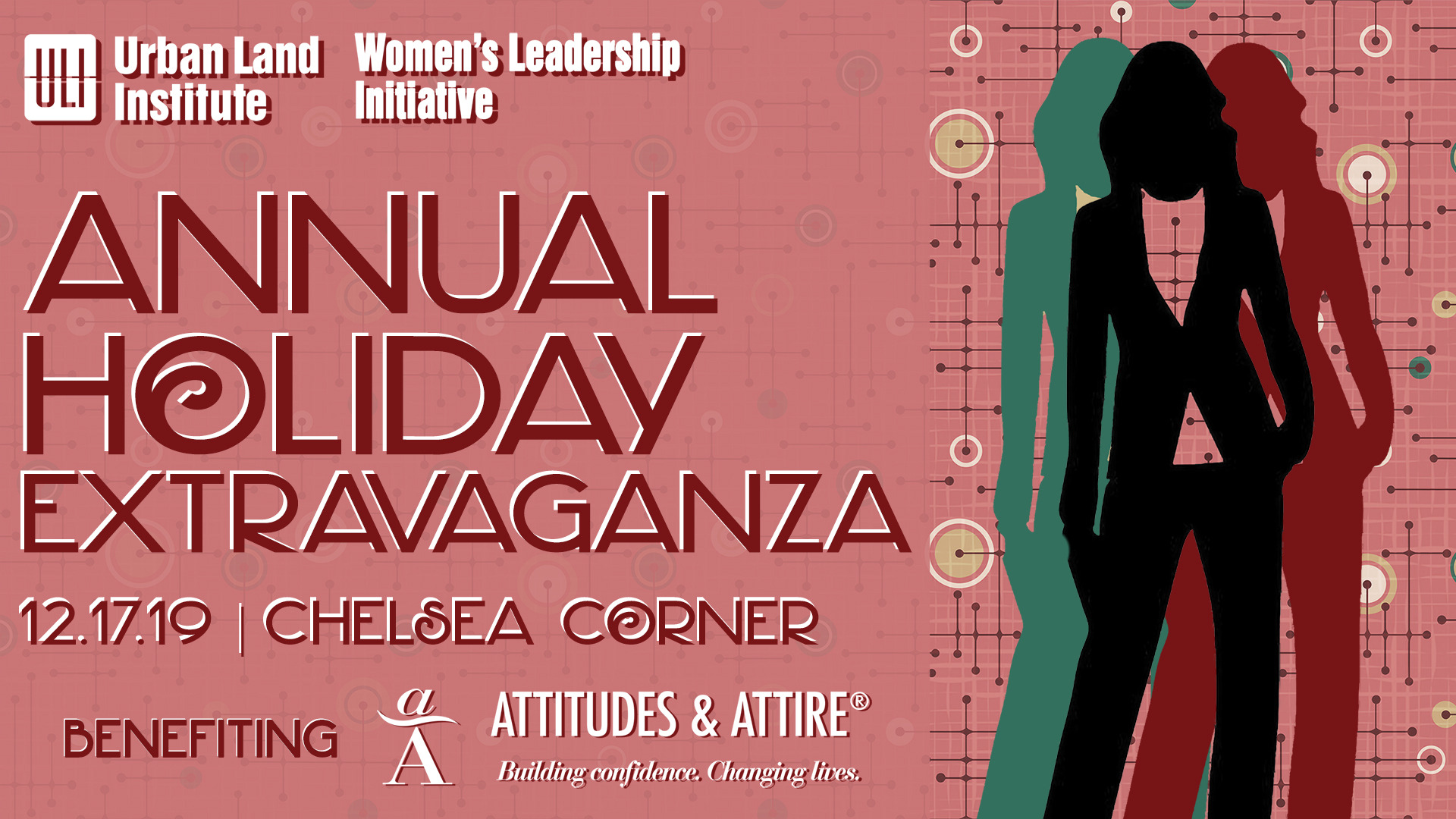 WLI Annual Holiday Extravaganza Logo