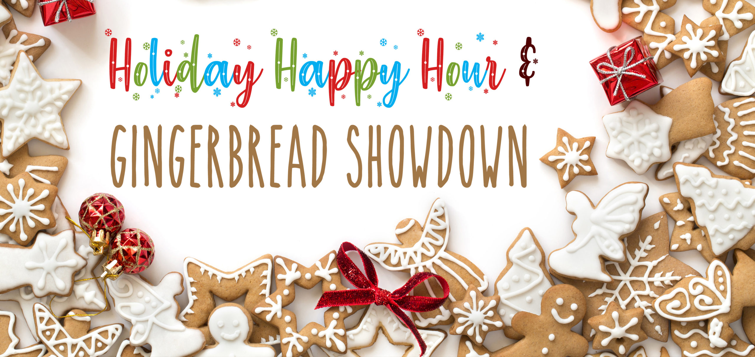 ULI Dallas-Fort Worth's Holiday Happy Hour & Gingerbread Showdown Logo
