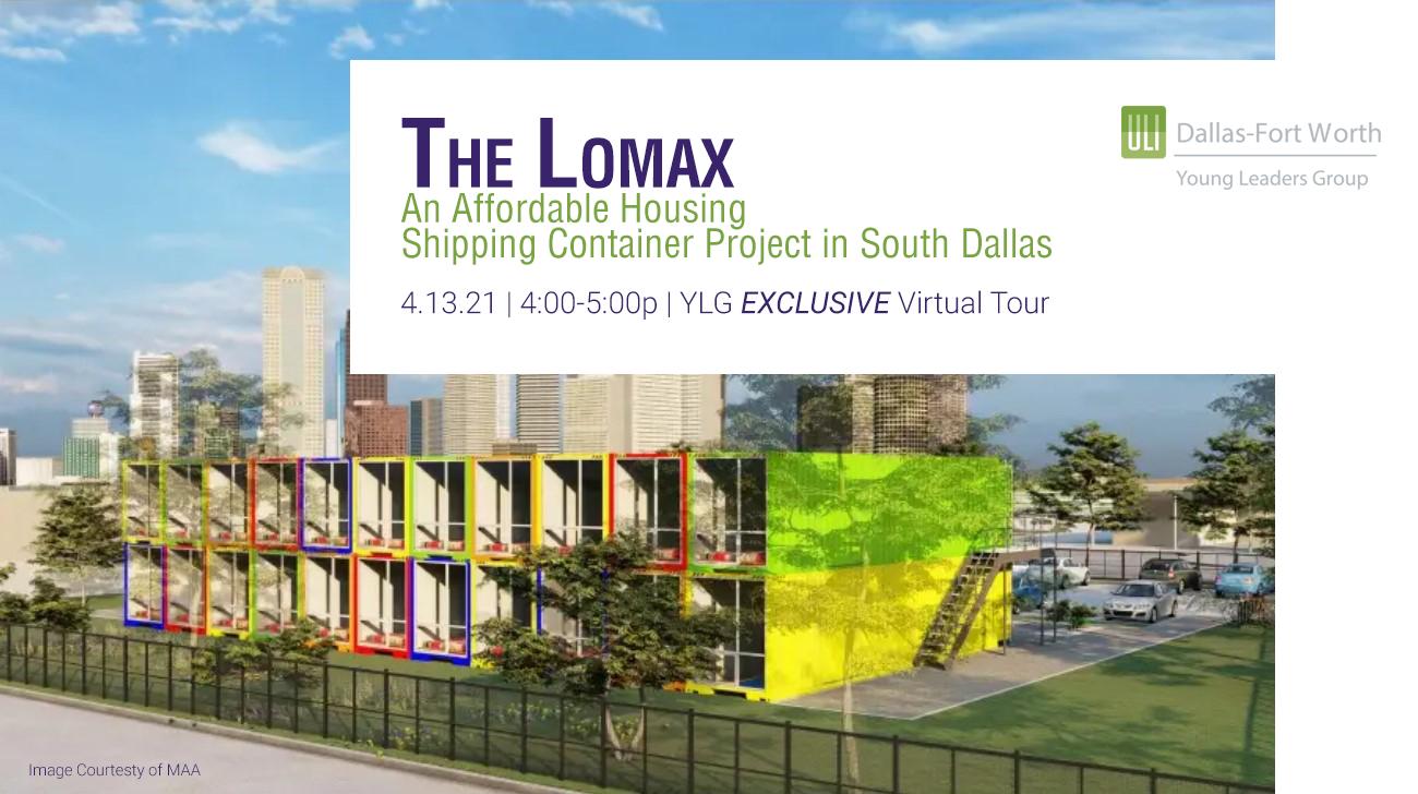 The Lomax - image courtesy of MAA
